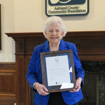 Julia Wright honored with 'Freedom From Selfishness' award