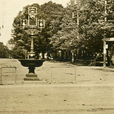 Then & Now: Plymouth Fountain: 1914