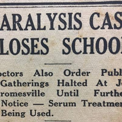 Jeromesville 9-year-old's polio case created 1931 controversy