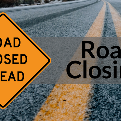 Section of Woodville Road closed through Jan. 10