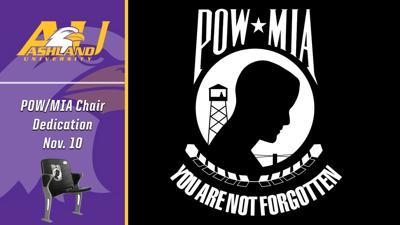 Ashland University to designate stadium seat to honor POW/MIA