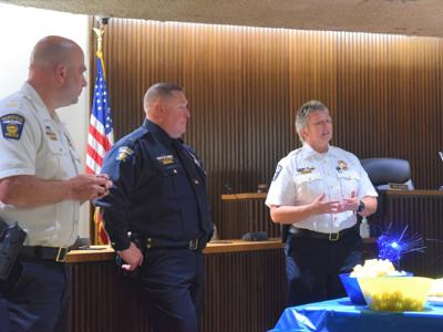 Jason Bammann takes oath as new MPD assistant chief