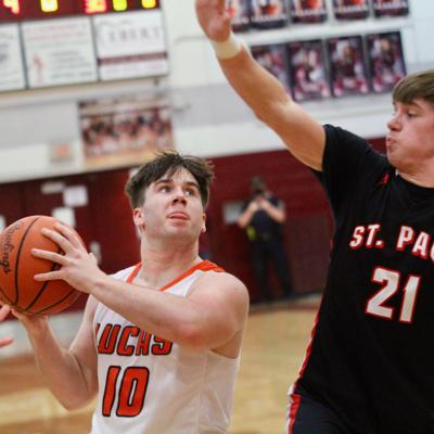 Lucas stops St. Paul, wins 2nd straight district title