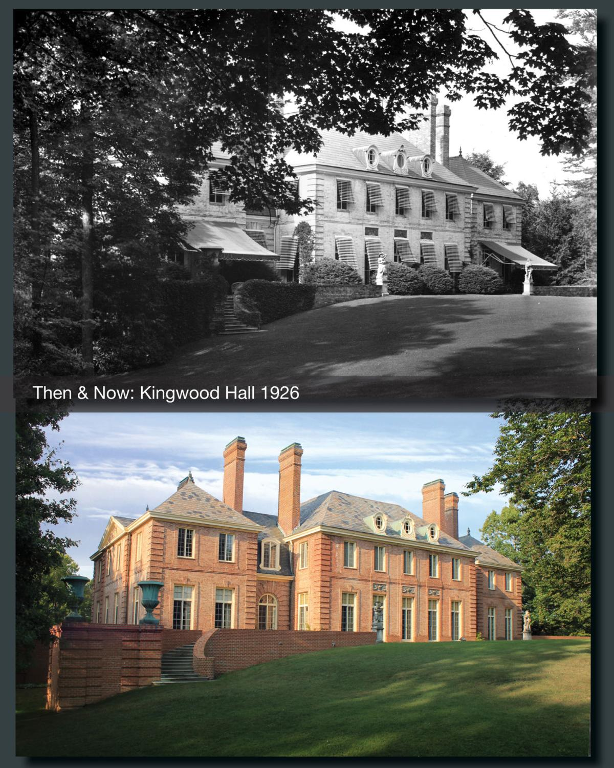 Then & Now: Kingwood Hall 1926