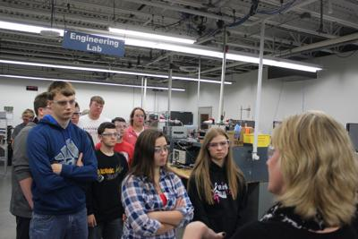 Shelby Students Manufacturing