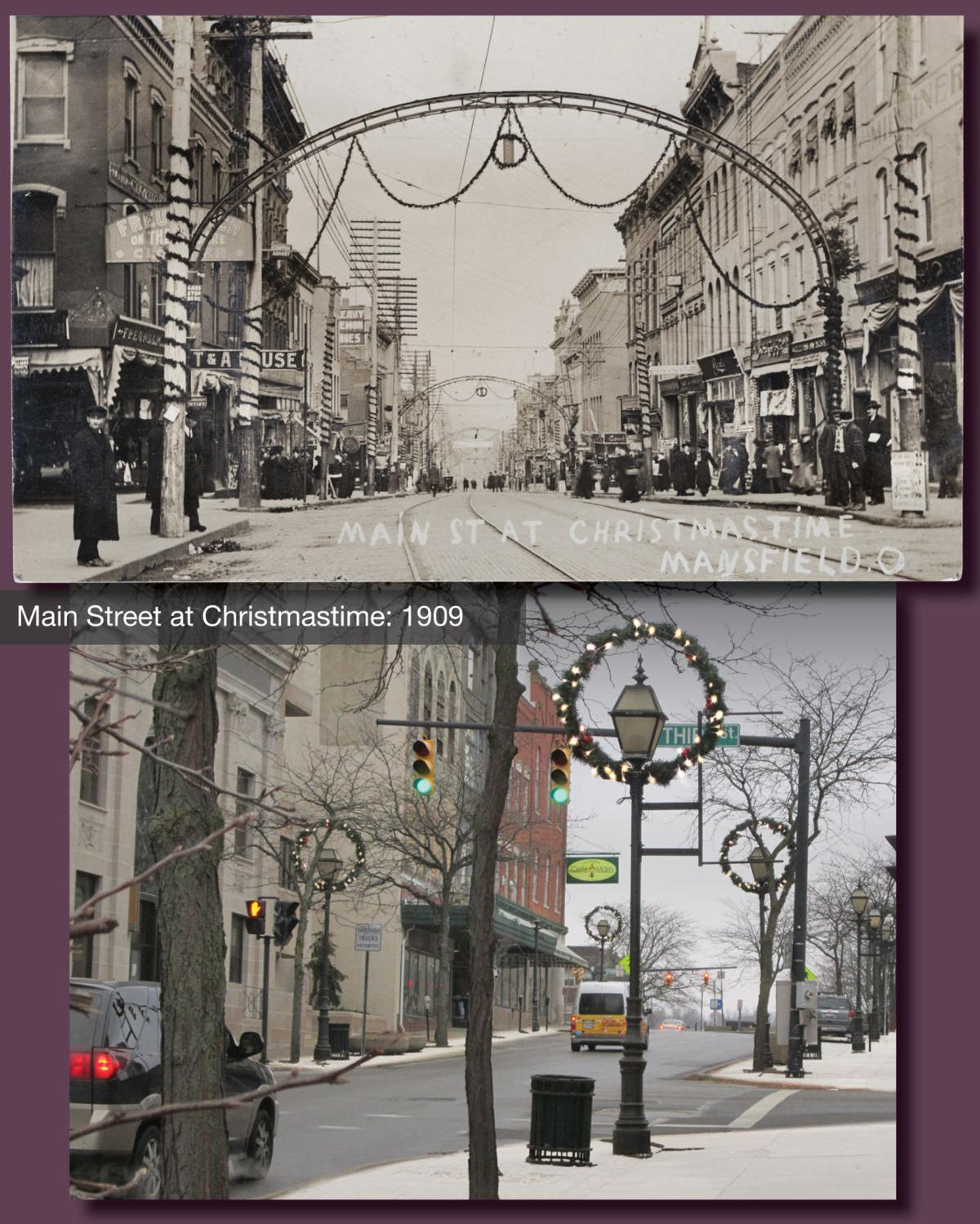 Christmas then and now