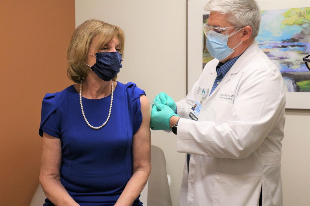 Fran DeWine is vaccinated