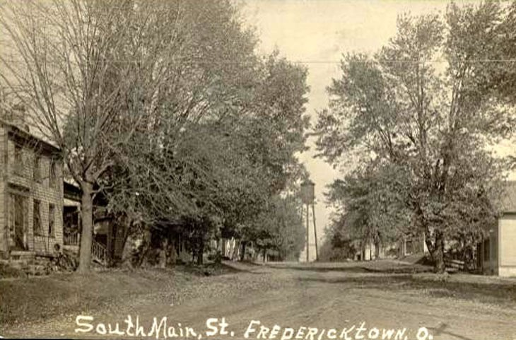 South Main view of Fredericktown Water Tower