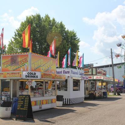 Choose grilled options, split snacks to eat healthier at the fair