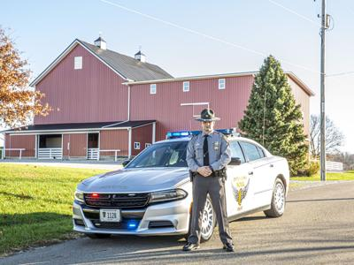 Cox selected as 2020 Trooper of the Year