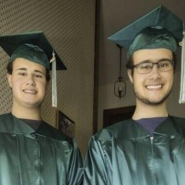 Clear Fork High School 2020 Graduates: Samuel Hahn & Benjamin Hutyera