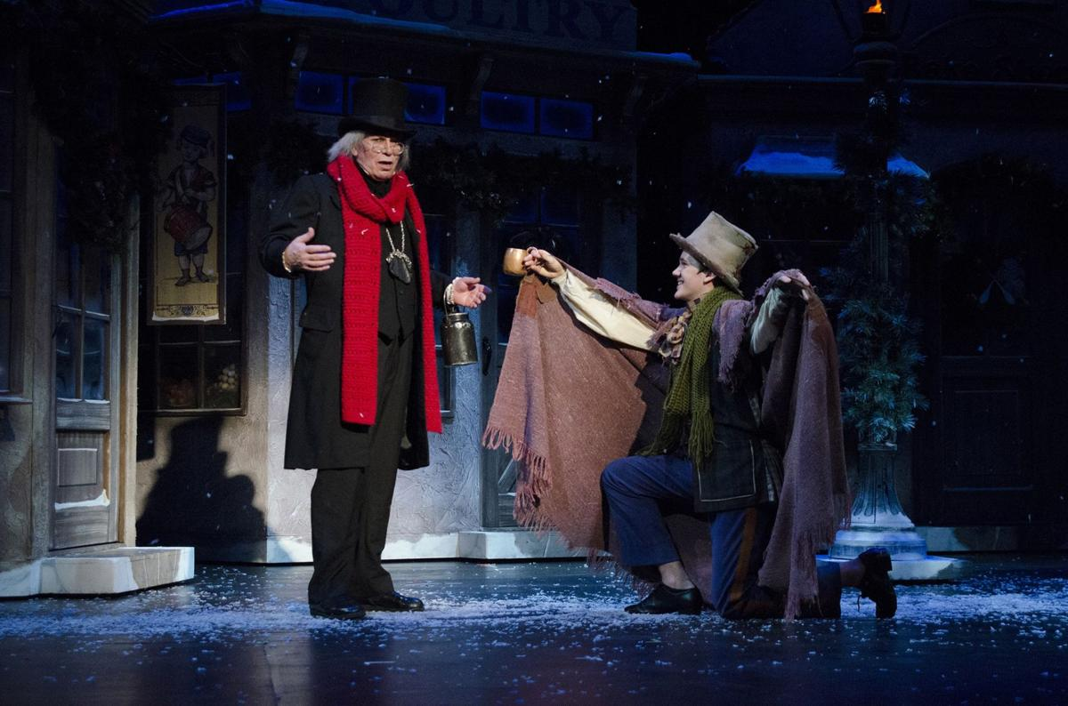 A Christmas Carol Play.A Christmas Carol To Play At The Ohio Theatre Nov 23 25