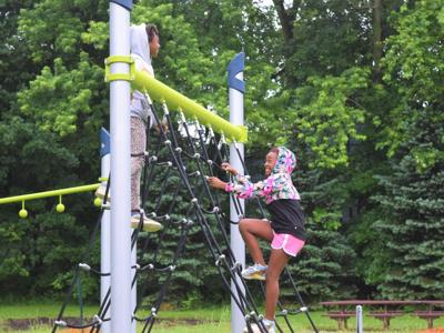 New playground equipment greets visitors at North Lake Park, Johns Park