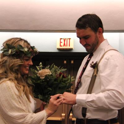 Mansfield Municipal Court hosts 2 Valentine's Day weddings