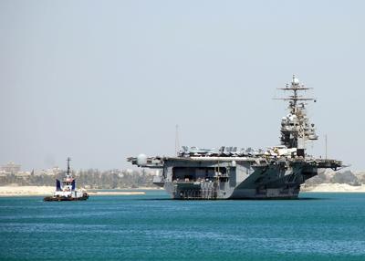 Lexington sailor aboard COVID-19 stricken aircraft carrier 'still doing well'