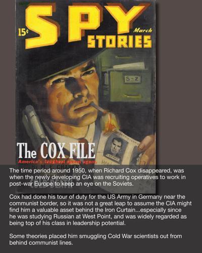 Cox file: Spy theory 1