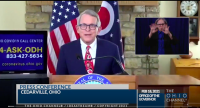 COVID-19: DeWine announces benchmark for lifting all health orders