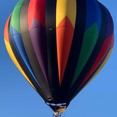 Here's why my pilot got emotional after taking me on my first Ashland BalloonFest flight