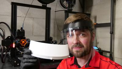 Ashland residents are using  3D printers to manufacture face shields