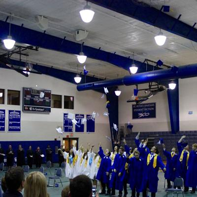 St. Peter's Graduation 2016