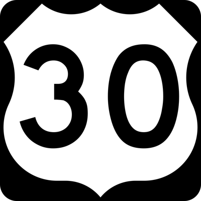 U.S. 30 eastbound will be down to one lane due to road repair
