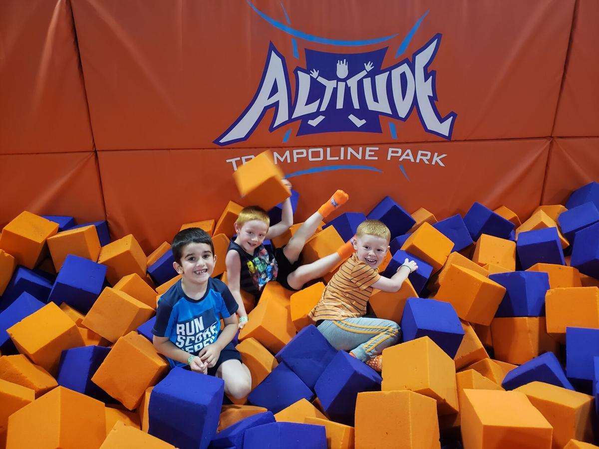 Kids at Altitude Trampoline Park