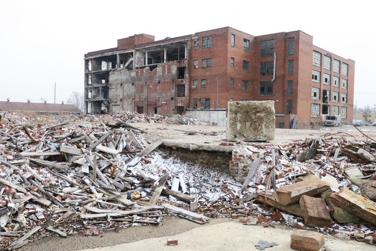 Pump House rubble