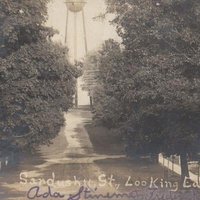 Fredericktown's water tower was the subject of a 1906 postcard