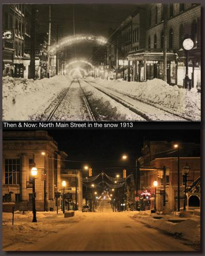 Then & Now: North Main Street