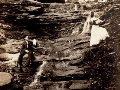 Hemlock Falls was named by Union Army leader Brinkerhoff