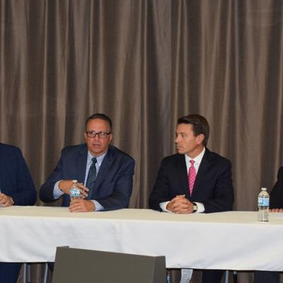 Four regional mayors share positive outlooks at Friday panel