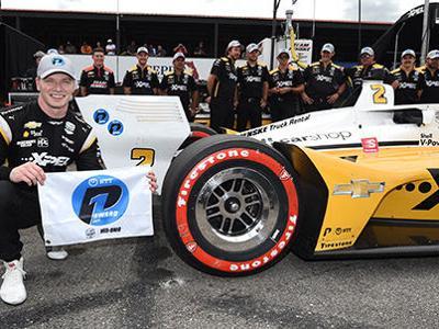 Newgarden grabs third consecutive pole at Honda Indy 200 at Mid-Ohio