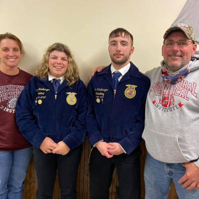 Agricultural experiences drive Plymouth's 2020 American FFA degree recipient Echelbarger