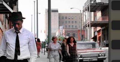 Morgan Freeman on North Main Street in Mansfield OH