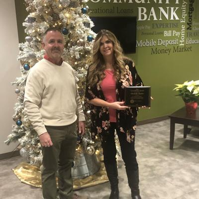Studer earns top award for First Federal Community Bank