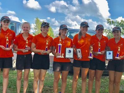 Ashland girls golf team 2019