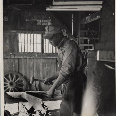 Can't keep a good Ohio blacksmith down