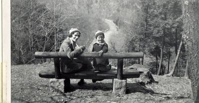 The gorge at Mohican 1943