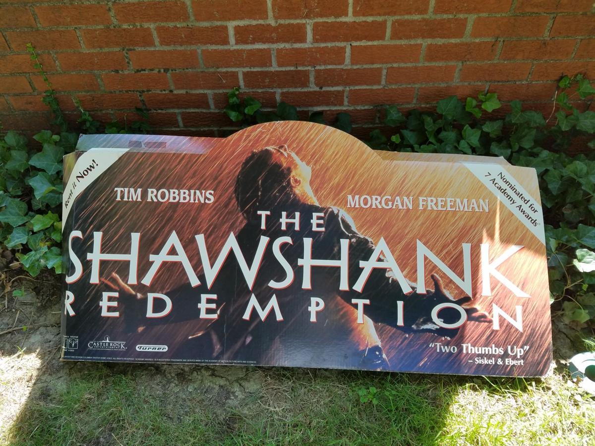 Vintage Shawshank sign