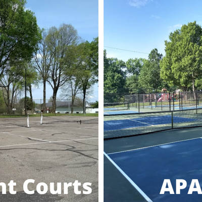 Ashland pickleball enthusiasts make final push in court renovation campaign