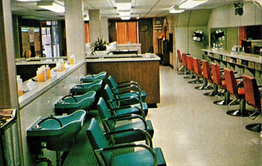 Mansfield Beauty College classroom