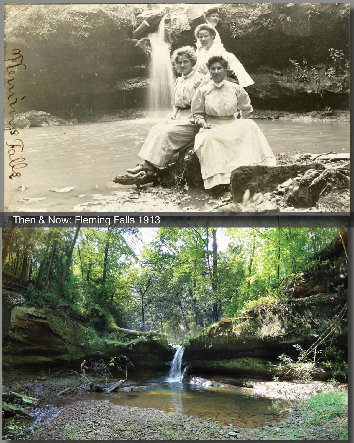 Then & Now: Fleming Falls 1913