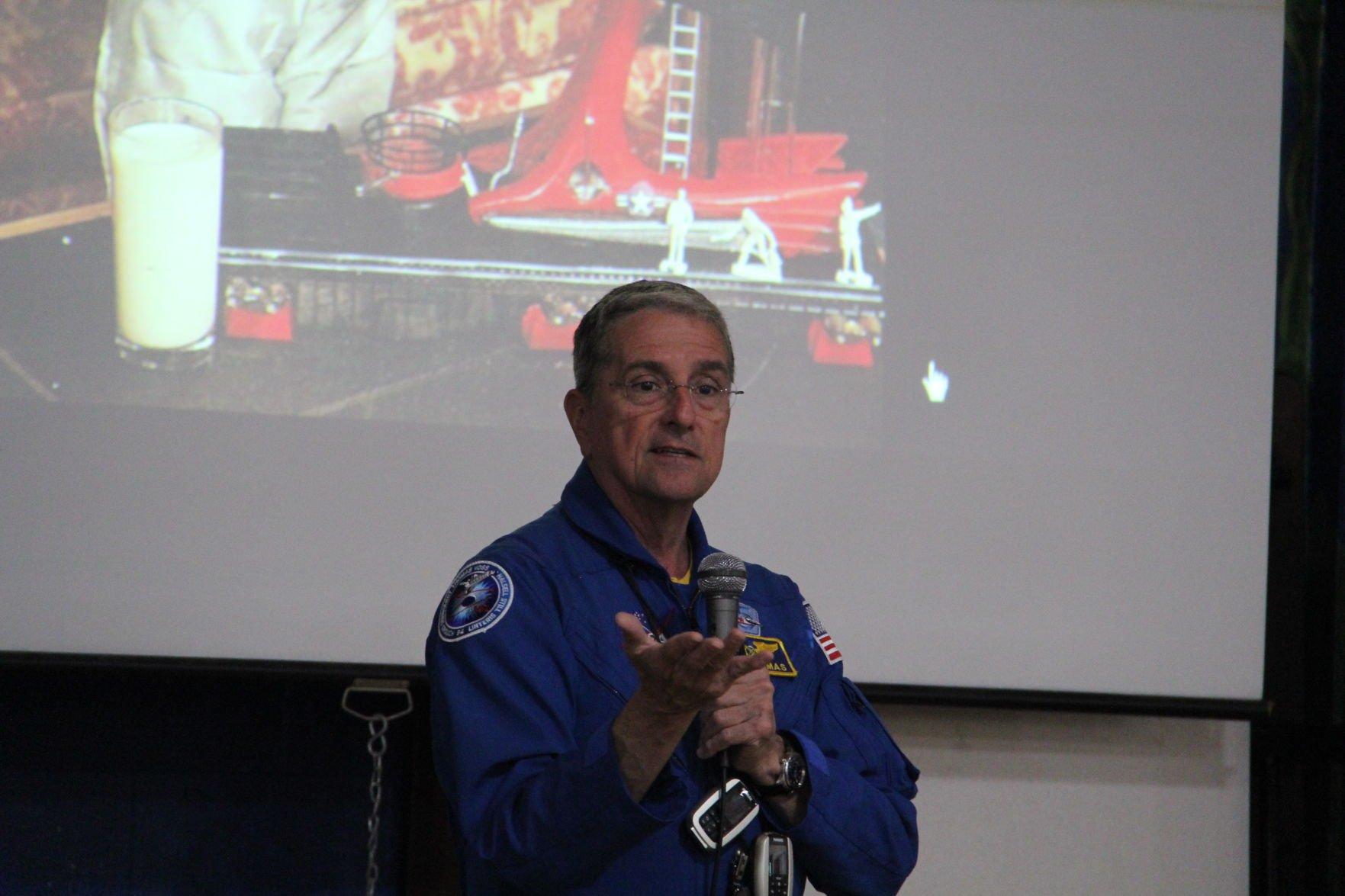 Lexington Elementary students hear from Ohio astronaut