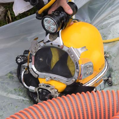 GALLERY: Underwater maintenance underway at Mansfield Water Treatment plant