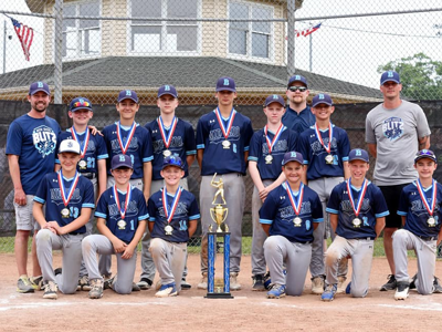 Mid-Ohio Blitz captures 12U state baseball tourney title