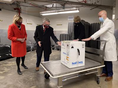 First COVID-19 vaccines arrive in Ohio