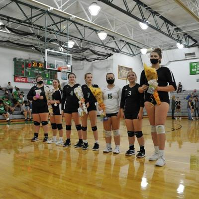 GALLERY: Clear Fork volleyball celebrates Senior Night vs. Shelby