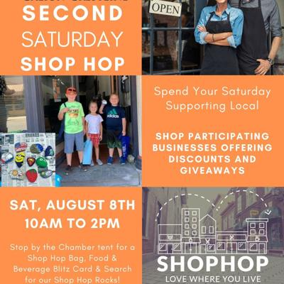 "Galion-Crestline Chamber to host ""Back to School"" 2nd Saturday Shop Hop"