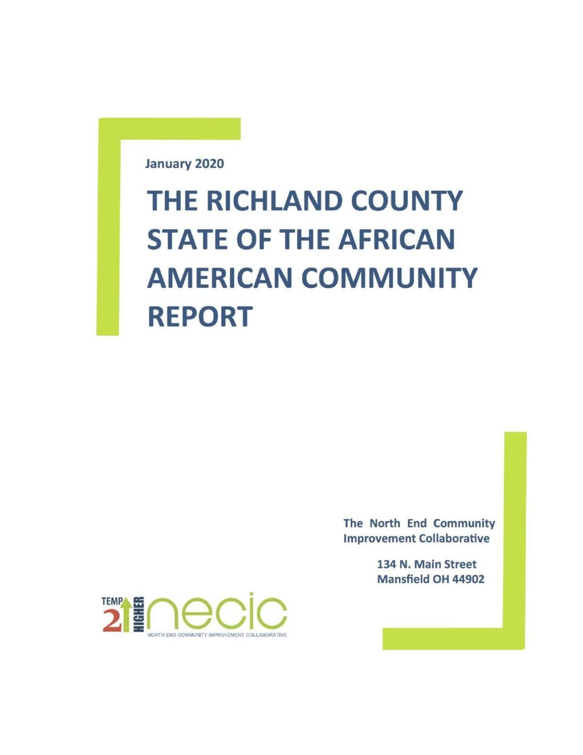 Richland County State of the African-American Community Report