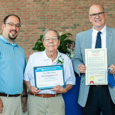 Joe Armbruster honored as 2020 Crawford County Outstanding Senior Citizen